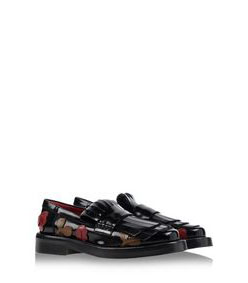 ShopBazaar Marni Floral Appliqué Patent Leather Brogue FRONT