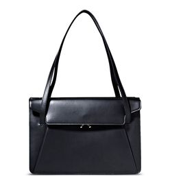 ShopBazaar Marni Origami Leather Shoulder Bag MAIN