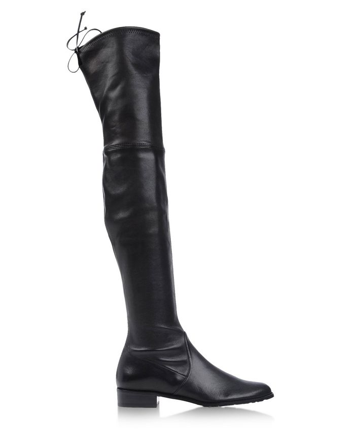 Lowland Black Leather Boot