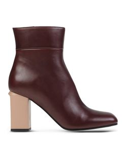 ShopBazaar Marni Leather Ankle Boot MAIN