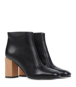 ShopBazaar Marni Wood Block Heel Boot FRONT