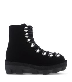 ShopBazaar Alexander Wang Velvet Ankle Hiker Boot  MAIN