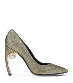 ShopBazaar Nicholas Kirkwood Glitter Pearl Pump MAIN