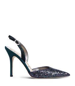 ShopBazaar Sam Edelman Dark Blue Glitter Heel  MAIN