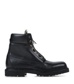 ShopBazaar Balmain Black Combat Boot MAIN