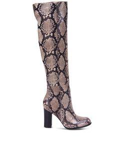 ShopBazaar Sam Edelman Over-The-Knee Snake Boot MAIN