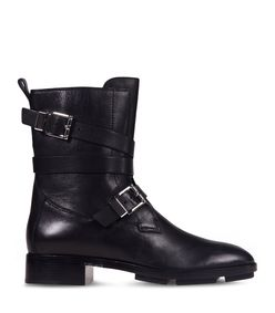 ShopBazaar Alexander Wang Leather Moto Boots MAIN