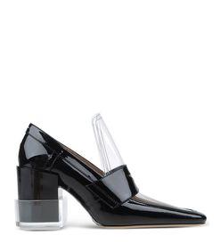 ShopBazaar Maison Margiela 22 Black Sculpted Loafer  MAIN