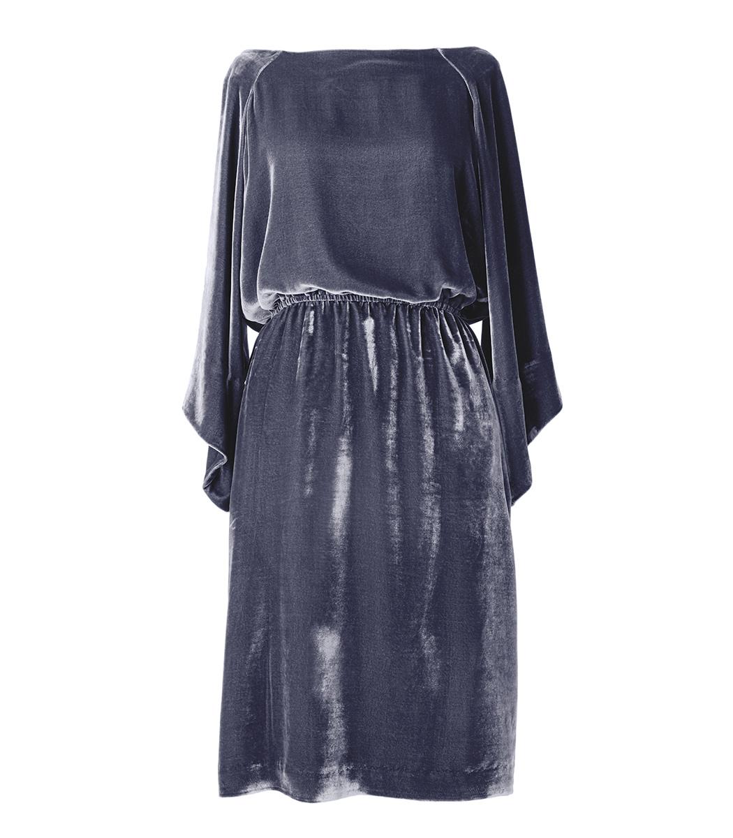 silver grey 'erika' dress