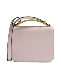 ShopBazaar Marni Blush Leather Crossbody Bag MAIN