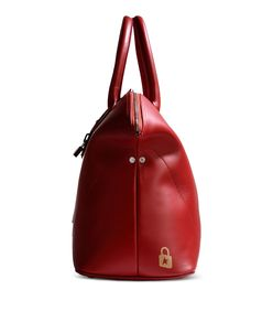 ShopBazaar Golden Goose Red Leather Tote FRONT