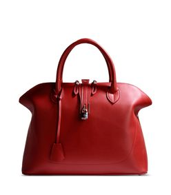 ShopBazaar Golden Goose Red Leather Tote MAIN