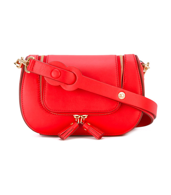 red vere mini satchel bag