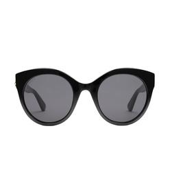 oversize cat eye acetate sunglasses