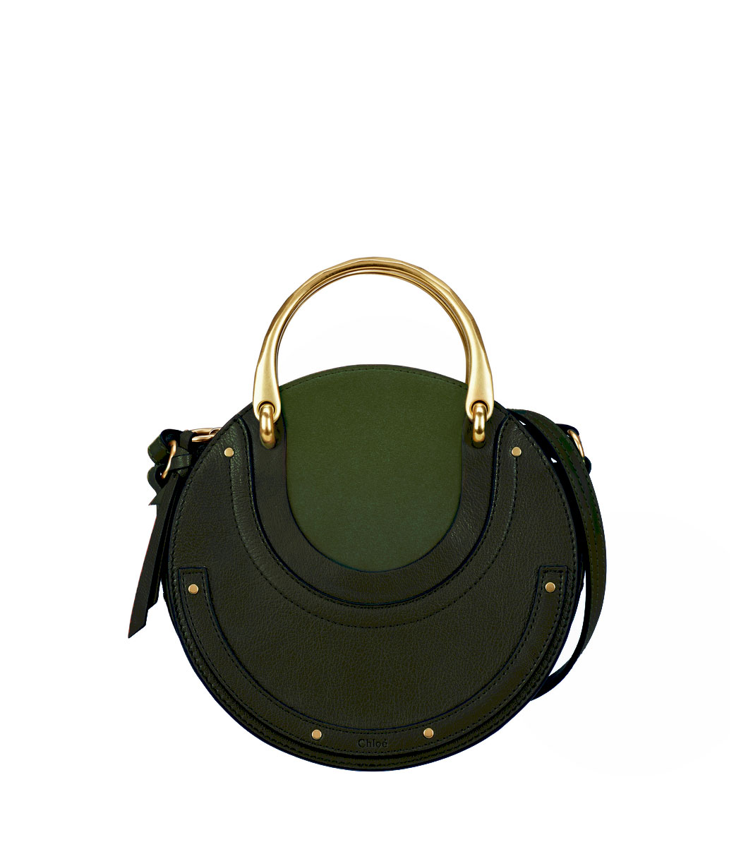 green small pixie handle bag