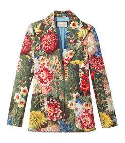 multicolor floral jacket