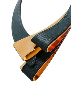 ShopBazaar Marni Asymmetrical Leather Necklace FRONT