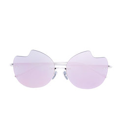 pink abstract sunglasses