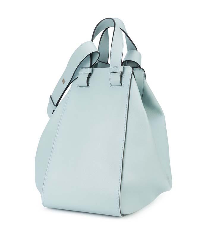 light grey hammock bag