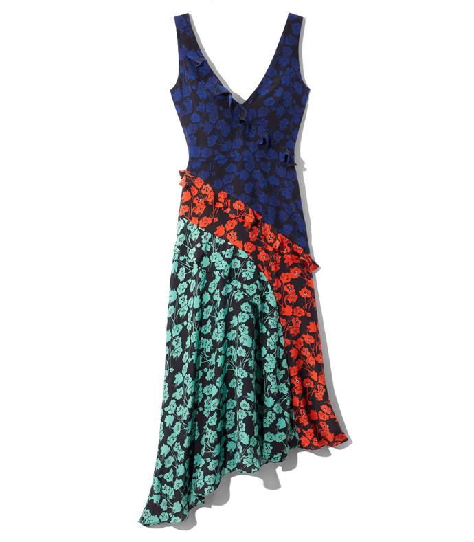 multicolor aggie dress