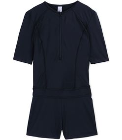ShopBazaar Adidas By Stella Mccartney Dark Gray Fitted Romper MAIN
