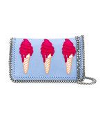 blue ice cream chain bag