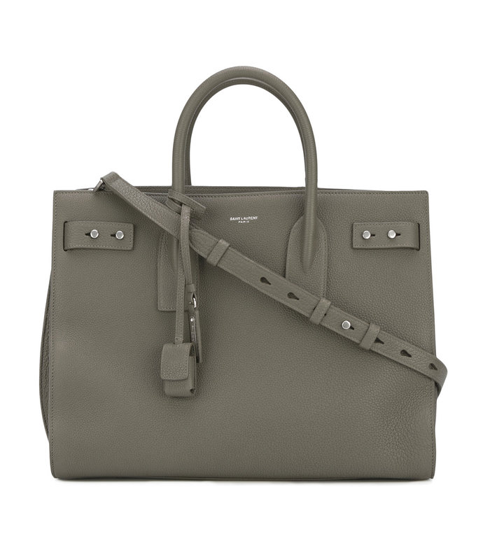 taupe medium 'sac de jour souple' tote bag