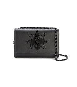 black small kate star shoulder bag