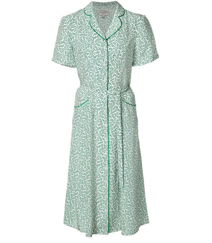 green 'vine' dress