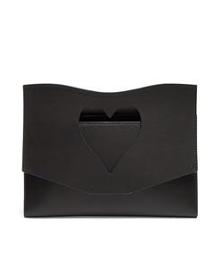 black medium cut-out curl clutch