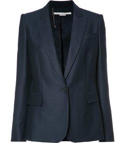 blue iris blazer
