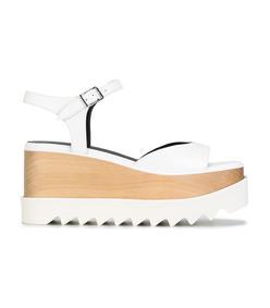 white 'elyse' sandal