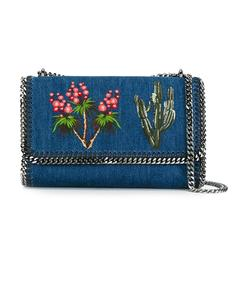 denim 'falabella' crossbody bag