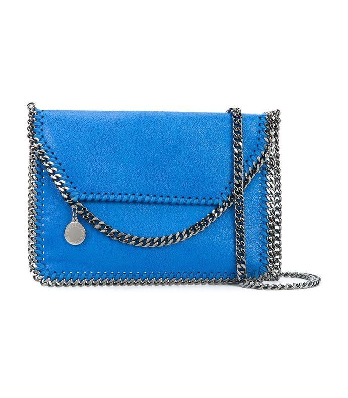 blue 'falabella' cross-body bag