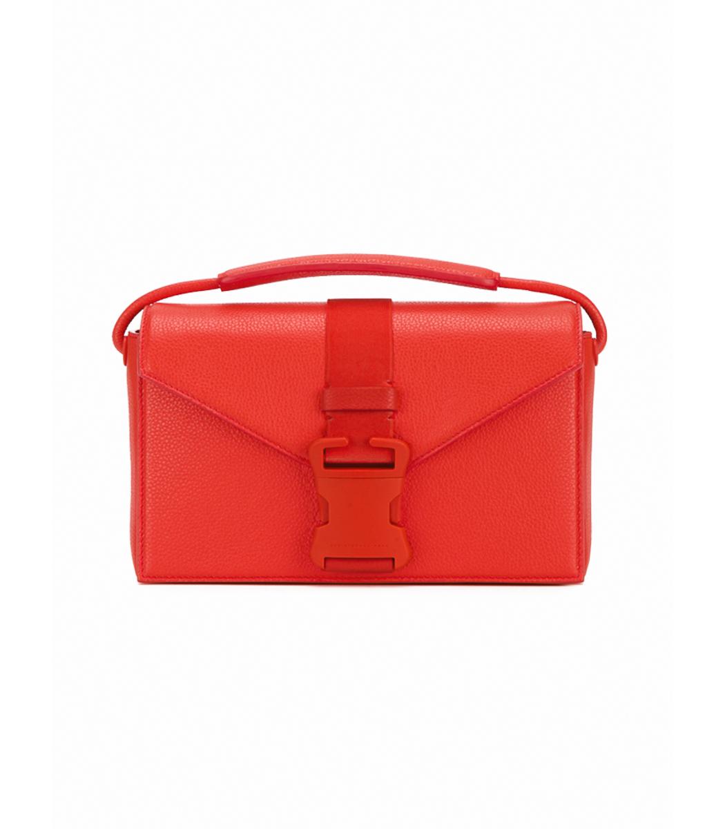 Devine Patent-leather Shoulder Bag - Red Christopher Kane q4qSpYS