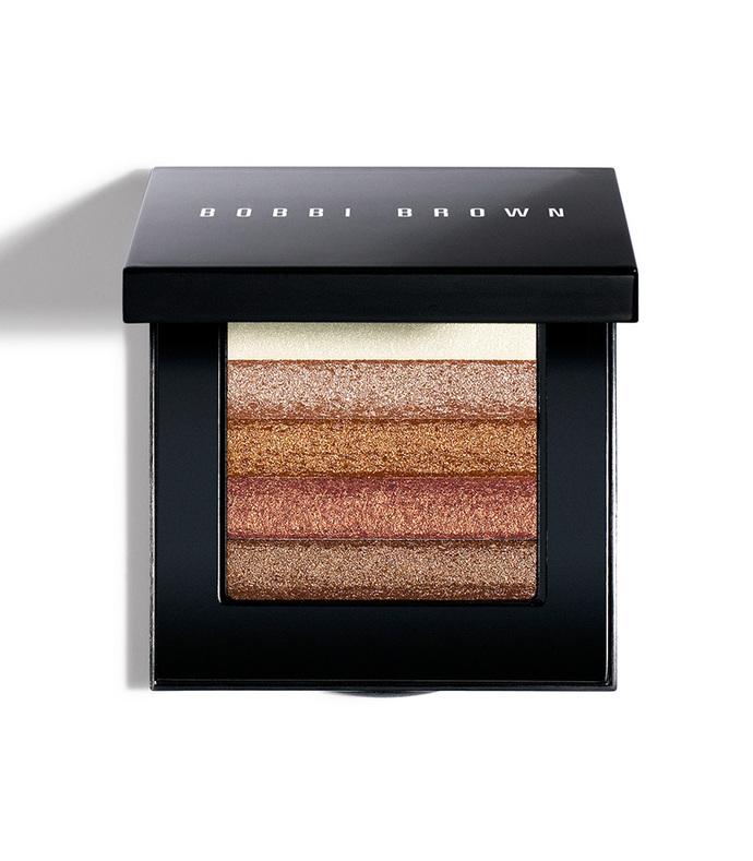 shimmer brick compact bronze