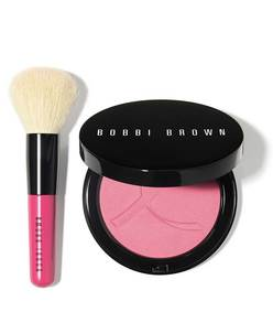 pink peony illuminating bronzing powder set