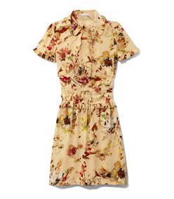 cosmic floral dress