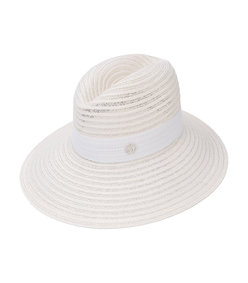 white ginger hat