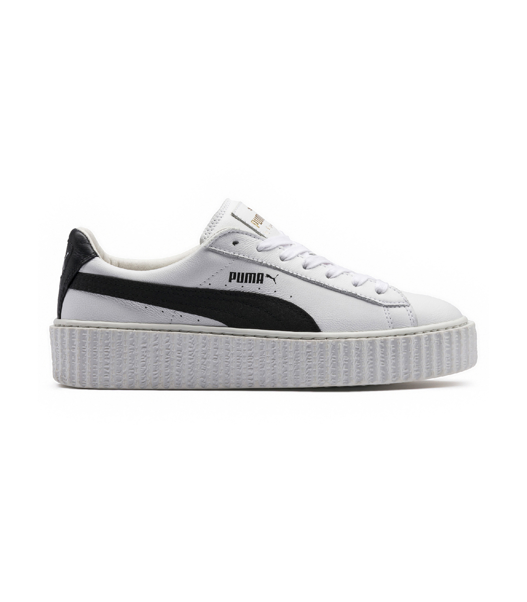 puma women 39 s fenty x rihanna suede creeper casual shoes white modesens. Black Bedroom Furniture Sets. Home Design Ideas