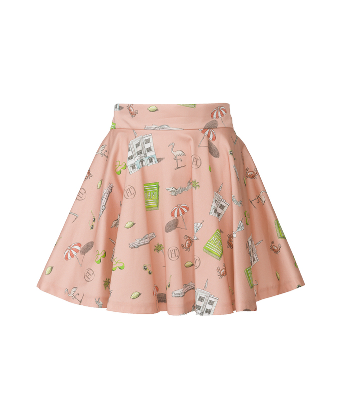 the webster x lane crawford 'rosa' skirt