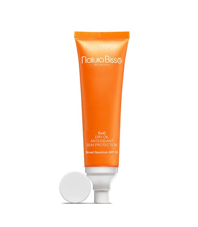 c+c spf 30 dry oil antioxidant sun protection