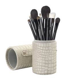 12 piece brush set stone case