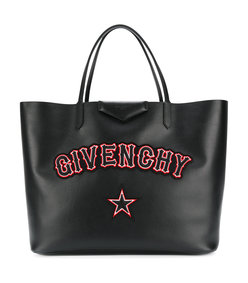black large antigona shopper bag