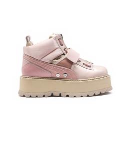 pink 'fenty x puma by rihanna' sneaker boots