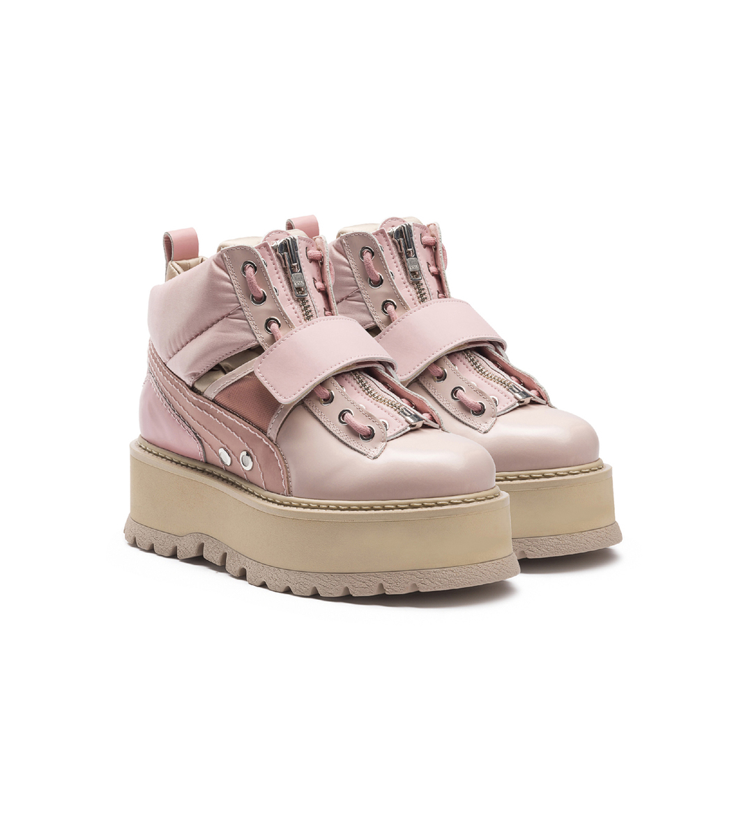 pink puma boots