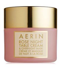 rose night table cream & overnight mask