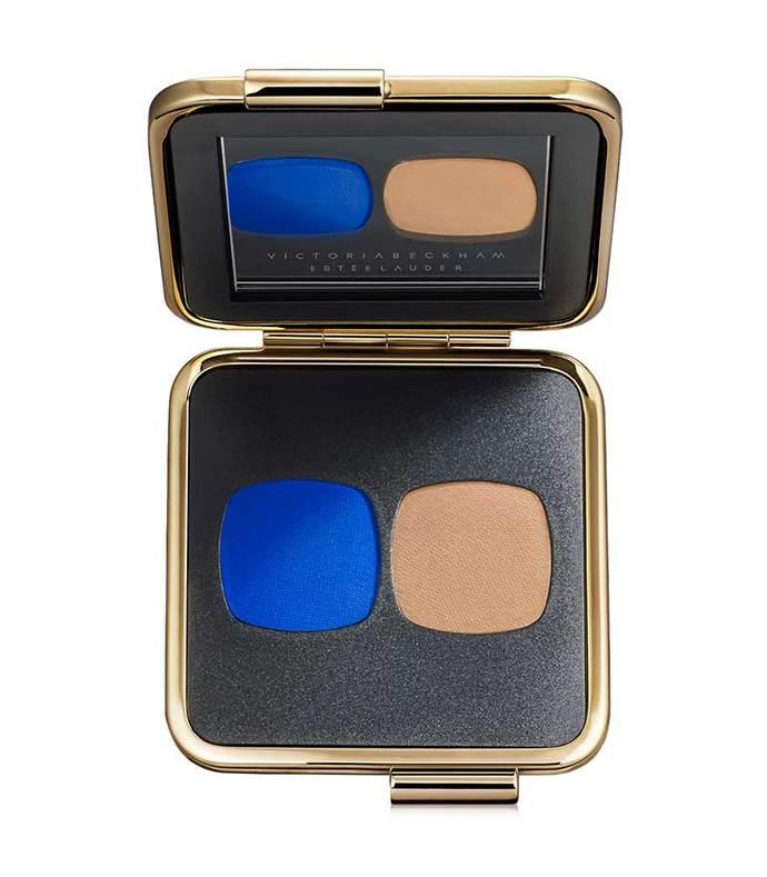 eye matte duo in bleu electrique/nude