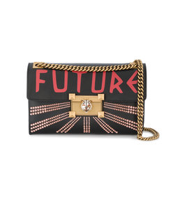 multicolor linea future shoulder bag