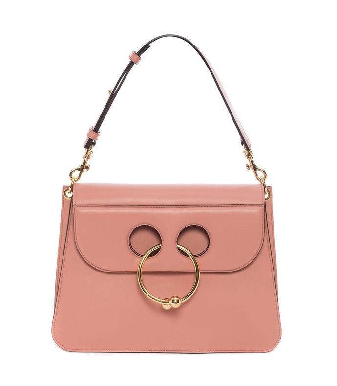 pink dusty rose medium pierce bag